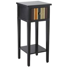 Lawson Pedestal Table  Maybe the needed accent to compliment fireplace tiles?
