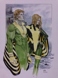Before X-men, Banshee, the heir to both a small fortune and a castle in Cassidy Keep, Ireland, married Maeve Rourke. While away, she gave birth to their daughter, Theresa Cassidy then she died in an IRA bombing. With no contacting Sean, his cousin Tom took care of Theresa. Sean returned to his wife's death. Before Tom could tell him of his daughter, Sean lashed out at Tom with his sonic scream breaking his leg. Tom swore revenge and  never told him about his daughter, raising her himself.