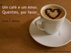 One coffee and one love, Hots, please.