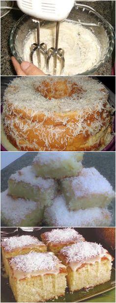 Esse Bolo é Simples e Fica Maravilhoso VEJA AQUI>>>Na batedeira, bata o açúcar, a manteiga e as gemas até virar um creme. Adicione o leite de coco e a farinha de trigo e misture. Acrescente o leite e mexa mais um pouco. Por fim, #receita#bolo#torta#doce#sobremesa#aniversario#pudim#mousse#pave#Cheesecake#chocolate#confeitaria