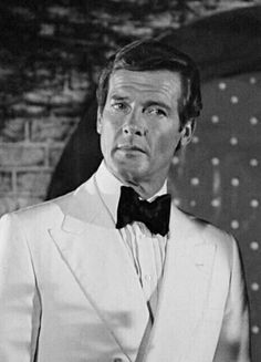 Roger Moore as 007.
