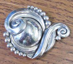 Margot de Taxco sterling pin brooch mexican by VintageOrganic, $166.00