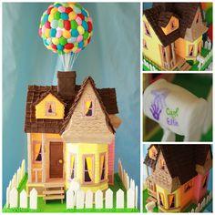 """Baby Guide Festa Infantil: Inspiração: Decoração Multicolorida com Tema """"UP - Altas Aventuras"""""""