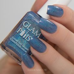 manicurator: Glam Polish GleeK Collection Swatch and Review Plus Spiral Nail Art
