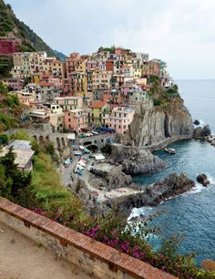 Vernazza, Italy on the Cinque Terre. Picture from Rick Steves website.