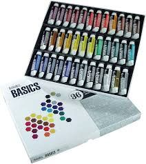 Liquitex 101036 Basics Acrylic Paint Set of tubes of color are small enough to fit into compact space efficient boxes while still giving the artist enough of the great quality, pigment rich acrylic to learn color theory or to complete virtual Acrylic Paint Set, Acrylic Colors, Paint Colors, Arts And Crafts Supplies, Art Supplies, Liquitex Acrylic Paint, Oil Painting Supplies, Photo Prop, Paint Tubes