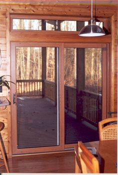 Wood sliding patio doors Build In Blind Replacement Sliding Patio Door With Wood Laminate And Decorative Window Detail Aspen House Home Improvement Pinterest Best Sliding Patio Doors Images Double Sliding Patio Doors