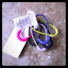 Lululemon Hair Ties/Zipper Pulls NWT No longer available from Lululemon lululemon athletica Accessories Hair Accessories