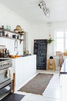 Scandinavian Styling in a Swedish Homestead