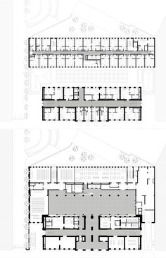 Hotel H10 Berlin Hotel Design Architecture, Brick Architecture, Hotel Floor Plan, Organic Structure, Hostel, Ground Floor, Apartments, Facade, Maps