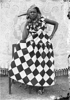 """Untitled #110"" by Seydou Keïta 1950-1955"