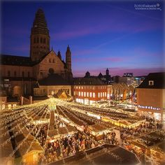 Christmasmarket in Mainz - Germany by Marcus Farmer on 500px