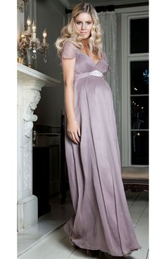 Silk Sophia (Ashen Mauve) by Tiffany Rose $845