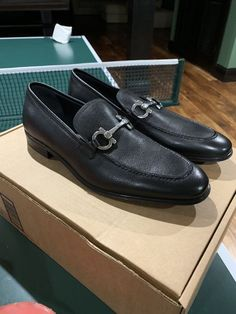 ffc1ce95bf4 Salvatore Ferragamo Gancini Bit Loafer Shoe  fashion  clothing  shoes   accessories  mensshoes