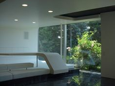 Perfekte Inszenierung der Natur. Aquarium, Bathtub, Bathroom, Glass Building, Staging, Nature, Aquarius, Standing Bath, Bath Room