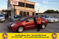 https://flic.kr/p/Ag58uW | Happy Anniversary to Annette on your #Nissan #Sentra from Fidel Rodriguez at Auto Center of Texas! | deliverymaxx.com/DealerReviews.aspx?DealerCode=QZQH