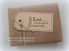 Miranda's Creaties - Cadeautje inpakken voor ZieZo Knutsels #2