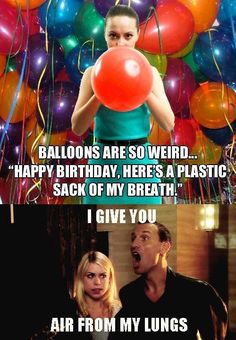 A balloon poet.