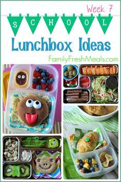 Week 7 - Lunchbox Ideas -- Family Fresh Meals