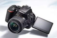 The Nikon is a new DSLR with a number of Nikon firsts. It's the first time the company has featured a touchscreen in such a product, and also its smallest DSLR to date. Nikon D5500, Best Dslr, Best Camera, Gopro, Best Travel Gadgets, Dslr Photography Tips, Camera Nikon, Dslr Cameras, Camera Bags