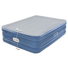 Treat your guests to the feel of a traditional bed with the AeroBed Quilted Foam Topper Air Mattress. The quilted foam top provides an ultra-soft feel to ensure the comfort of your guests. In addition, the antimicrobial treated sleep surface resists odor, mold, mildew and fungus on the product,.... more details at https://www.bestselleroutlet.net/camping/sleeping-bags-camp-bedding/air-mattresses/product-review-for-aerobed-quilted-foam-topper-air-mattress-queen/