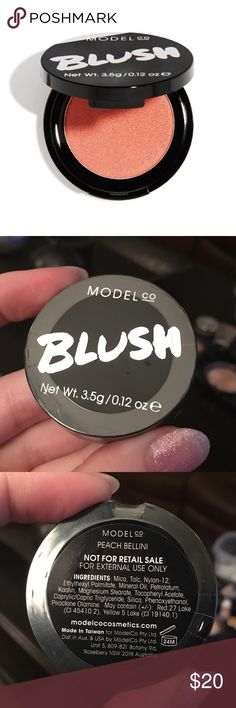 """ModelCo. Blush - """"Peach Bellini"""" Brand new! ✨ Never opened or used! ✨ No trades. Please feel free to comment with any questions and thank you for looking! 🌸🦋💍 Sephora Makeup Blush"""