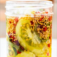 Pickled Green Tomatoes | Tried & True Recipes