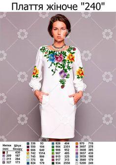 Ukrayinska Vishivanka Dresses With Sleeves, Long Sleeve, Fashion, Moda, Full Sleeves, La Mode, Gowns With Sleeves, Fasion, Fashion Models