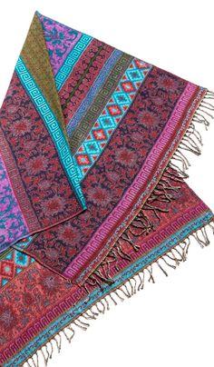 Индийское покрывало из натуральной шерсти, бохо стиль в декоре, wool Indian blanket, bohemian decor, boho interier. 2480 рублей