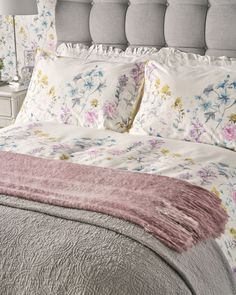 Find sophisticated detail in every Laura Ashley collection - home furnishings, children's room decor, and women, girls & men's fashion. Throw Cushions, Bed Pillows, Throw Blankets, Throw Rugs, Laura Ashley Cushions, Bed Back, Childrens Room Decor, Bed Throws, Bed Design