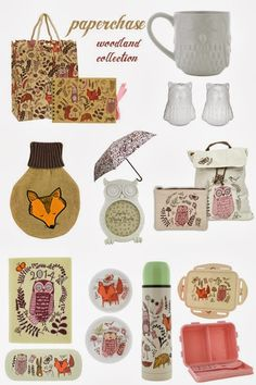 Woodland Collection by Paperchase