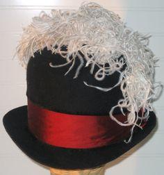 f0a551b4aed Elizabethan Felt Hat Men or Women for SCA by cardinalfinery