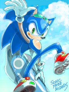 Sonic Free Riders fan art | Tumblr