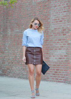 GiGi New York   Navy Uber Clutch   The Steele Maiden Fashion Blog