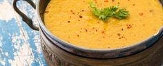 Dahl – az indiai vöröslencse-leves // Kristóf Konyhája Kolache Recipe, Yami Yami, Weekday Meals, Cream Cheese Filling, Dahl, Plant Based Recipes, Yummy Food, Delicious Recipes, Food And Drink