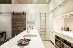 Modern Kitchen. Cool, Modern Kitchen with a Rustic Touch. #Kitchen