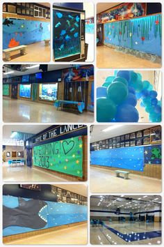 Under the Sea Homecoming decorations