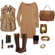 Neutrals for fall during the day