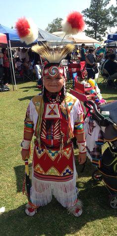 Grandson Wamblí Mato winner 3rd place Jr Boys Grass Dance.