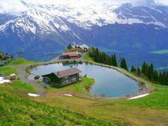 Brienzer See,Oberwalden Switzerland (63 pieces)