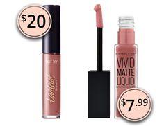 Makeup Dupes 2017: Tarte Tarteist Creamy Matte Lip Paint & Maybelline Vivid Matte Liquid Lip Color