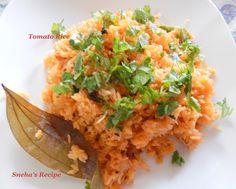 Tomato Rice ~ Sneha's Recipe