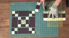 Quilty: How to make a Chain Quilt Block