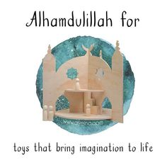 163: Alhamdulillah for toys that bring imagination to life #AlhamdulillahForSeries (islamic toys for kids)