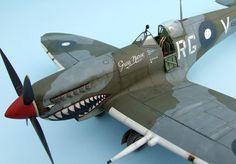 Spitfire Mk.VIII 1/32 Scale Model
