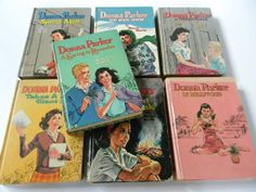 I think I read every single Donna Parker books. Whitman books sold for 59 cents and had 252 pages each.  What great entertainment value.