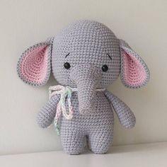 Elefant Tierhäkeln Kostenlos Häkelprojekte