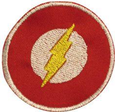 The Flash Superhero Patch
