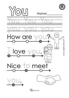 Beginning Reading 24 - My - English Unite Learn English Kid, Learning English For Kids, English Worksheets For Kids, English Lessons For Kids, Kids English, French Lessons, Spanish Lessons, Learn French, Phonics Reading