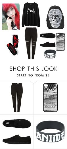 """""""school"""" by sierra-rose-russell ❤ liked on Polyvore featuring Vans"""